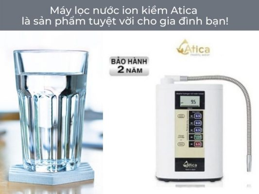 May Loc Nuoc Ion Kiem Cho Gia Dinh
