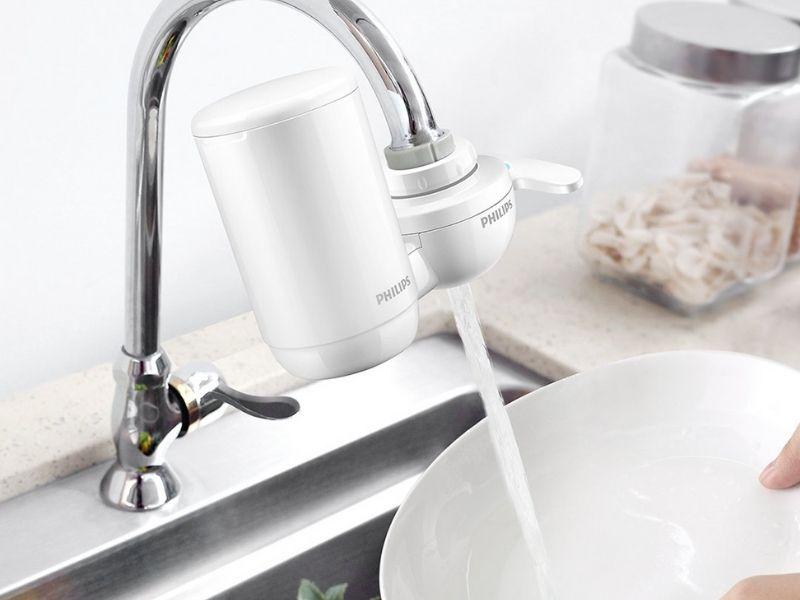 Máy lọc nước gắn vòi ra đời mục đích chính là nhằm cải thiện chất lượng nước sử dụng